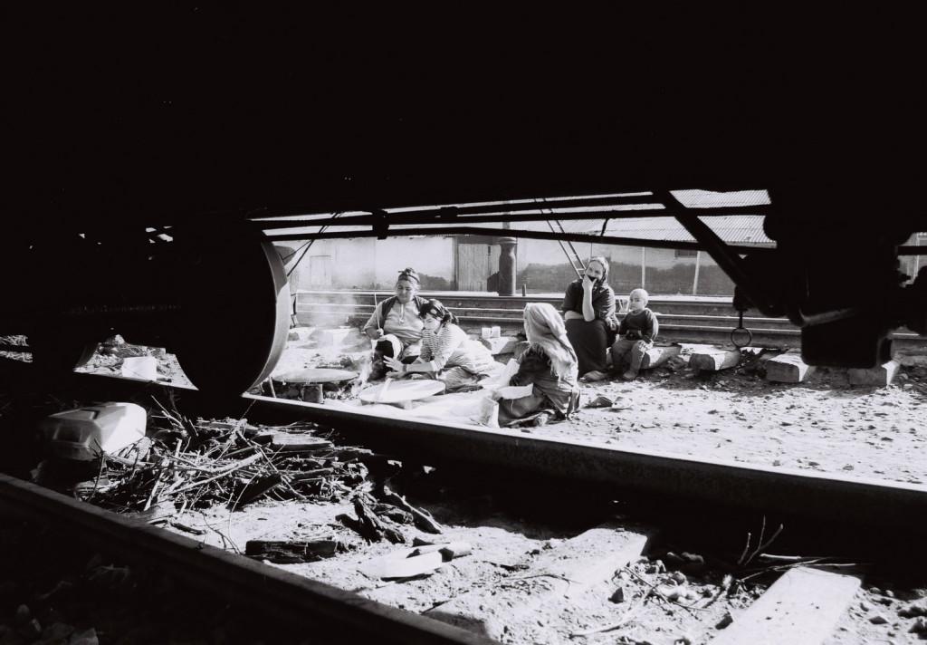 30.Sabirabad rayonunda dəmir yolunda məskunlaşan məcburi köçkünlər 2001-ci il