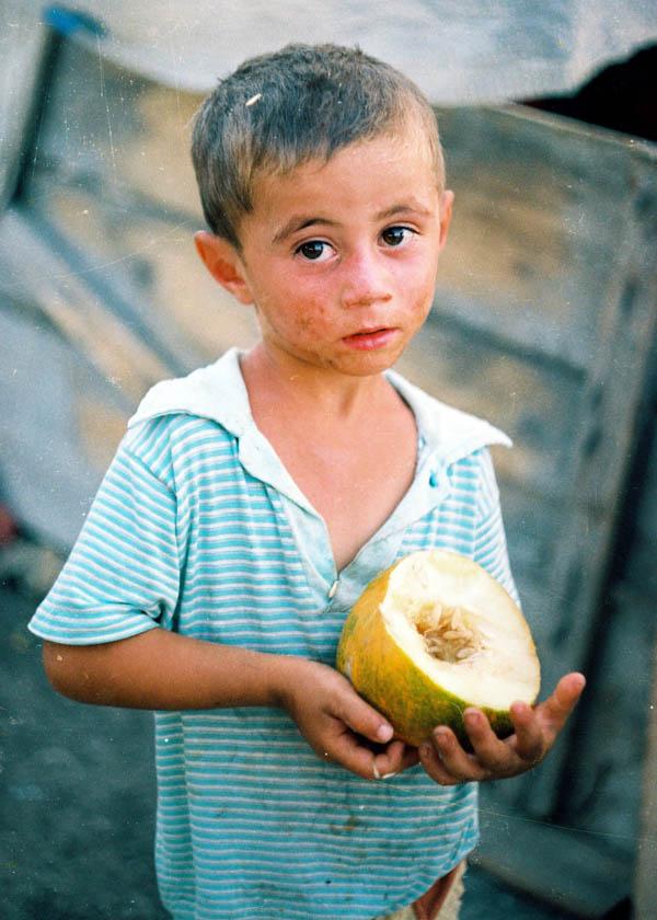 Məcburi köçkün düşərgəsi, Oğuz 2002-ci il