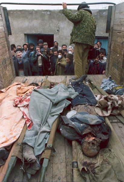 Жертвы ходжалинского геноцида. 1992