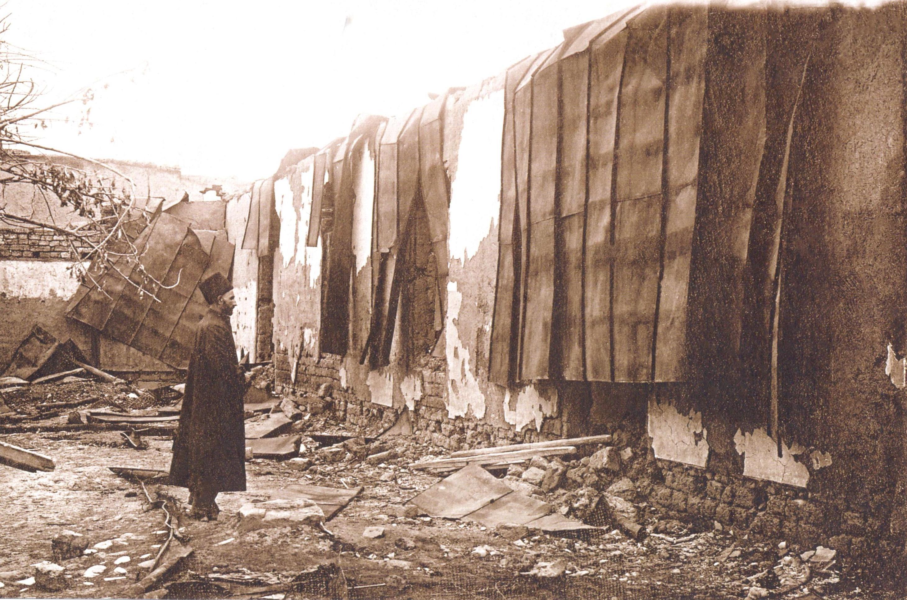 1 Kürdəmir qəsəbəsində məscid 1918 ci il Soyqırımı: Göyçay qəzası