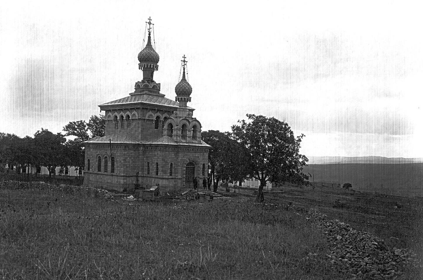 Şamaxı şəhərində pravoslav kilsəsi
