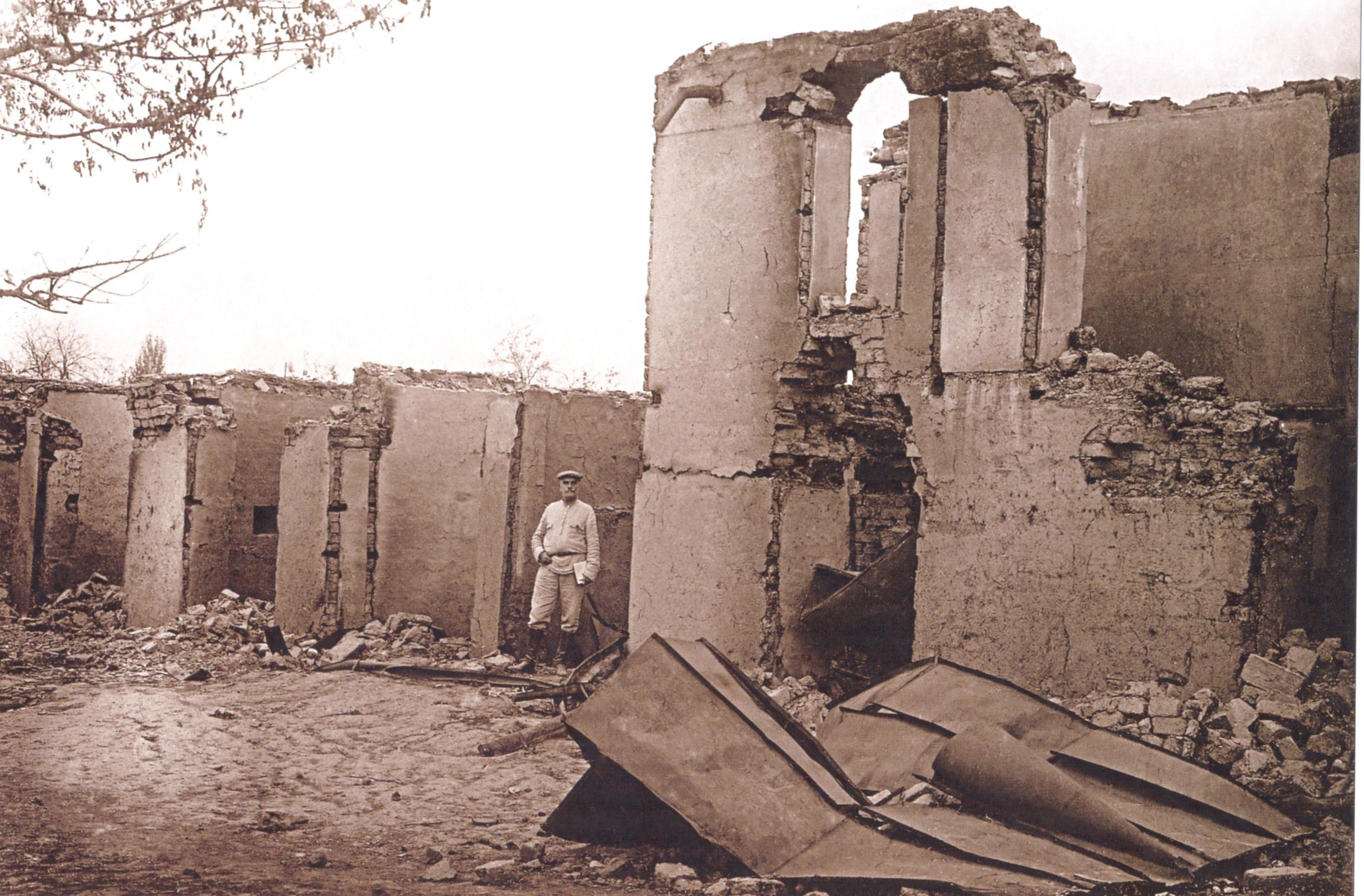 2 Süleyman Həsən oğlunun evi 1918 ci il Soyqırımı: Göyçay qəzası