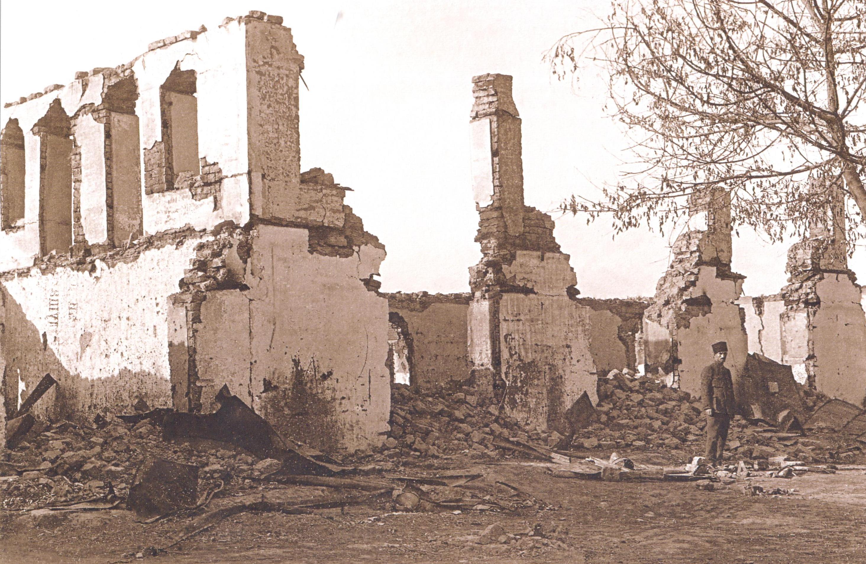 4 Pənah Bakir oğlunun mehmanxanası 1918 ci il Soyqırımı: Göyçay qəzası