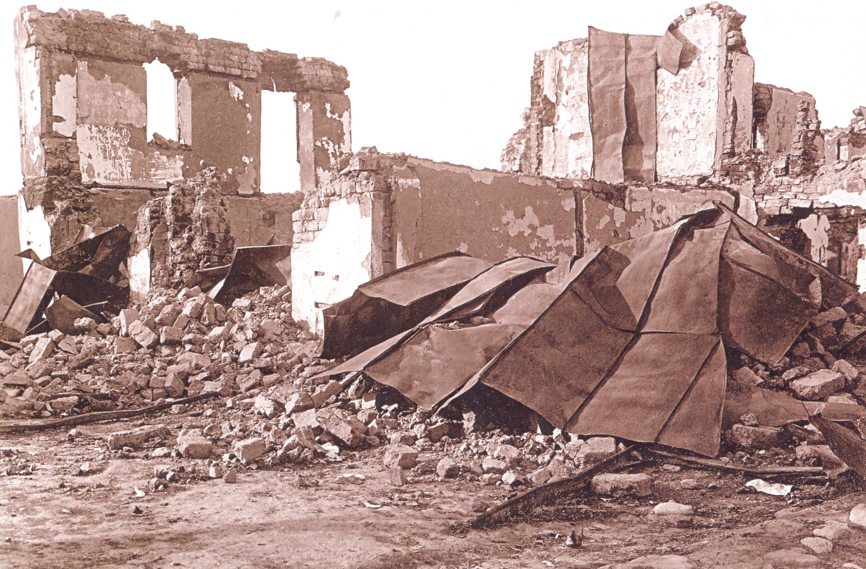 5 Əhməd Məlikovun barışdırıcı bölmənin binasının qarşısındakı evi 1918 ci il Soyqırımı: Göyçay qəzası