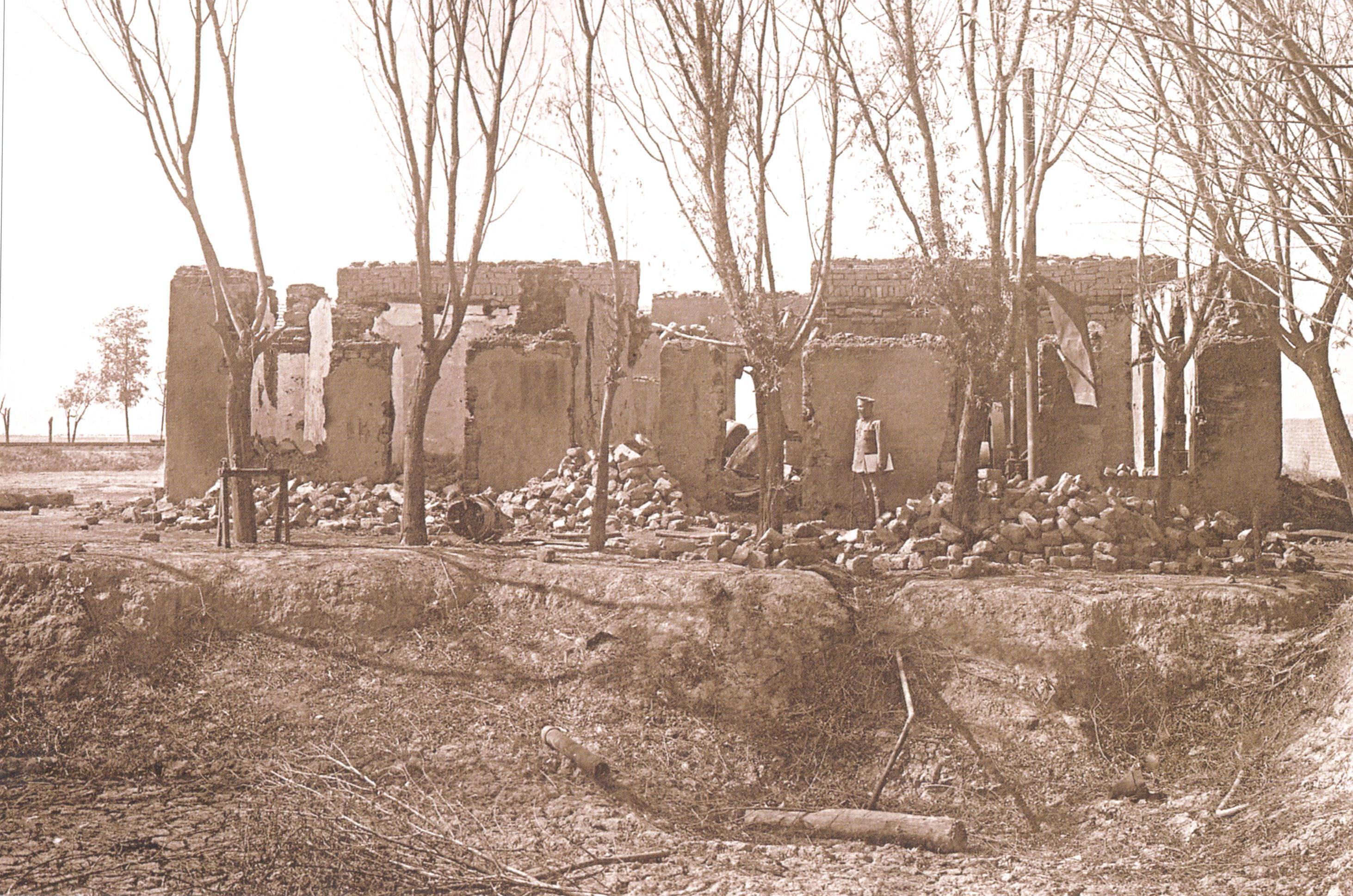 6 Əliyevin motorlu dəyirmanı 1918 ci il Soyqırımı: Göyçay qəzası