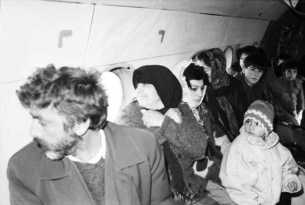 7.  Hava körpüsü. Şuşa- Ağdam səmasında, 1992-ci il