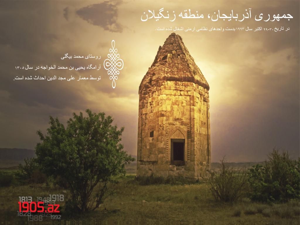 آرامگاه محمدبیگلی، منطقه زنگیلان