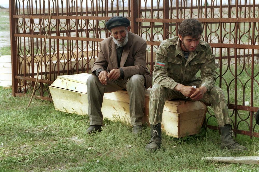 Agdam 1993. Photo by Shakhvalad Ayvazov