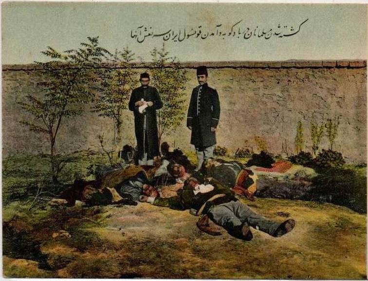 Les_Musulmans_assassines_a_Bacou_et_le_consul_qui_vient_voir_leurs_cadavres