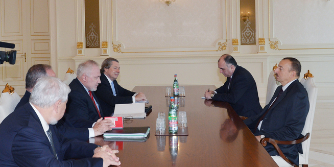 prezident Ilham Əliyev atət həmsədrlər