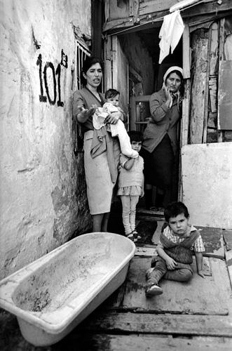Ermənistandan köçkün düşənlər. Bakı. 1989-cu il.
