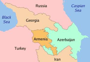 Qafqaz xəritə. Mənbə tsk.ru