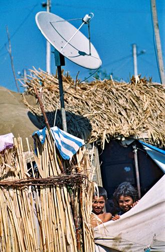 ლტოლვილთა ბანაკი საათლიში .1998 წ.