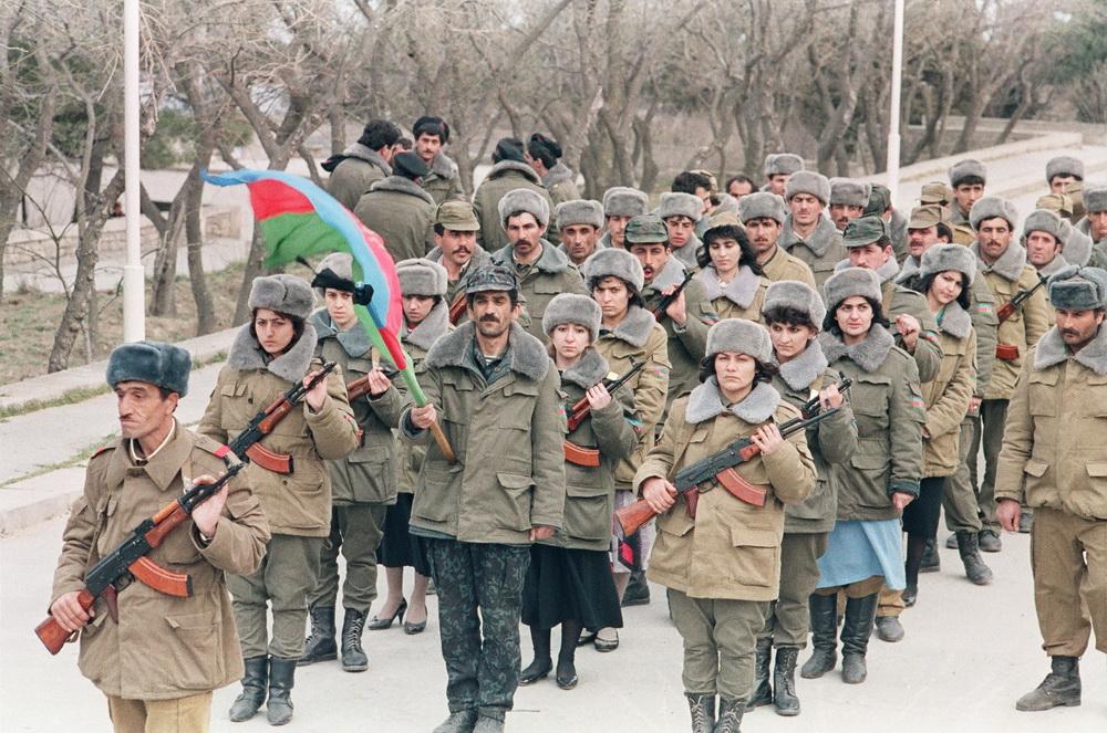 باکو، گردان بانوان، سال ۱۹۹۲