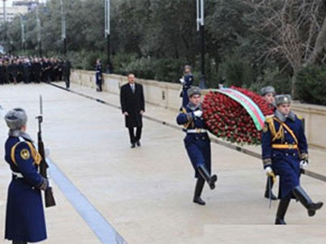 President İlham Əliyev