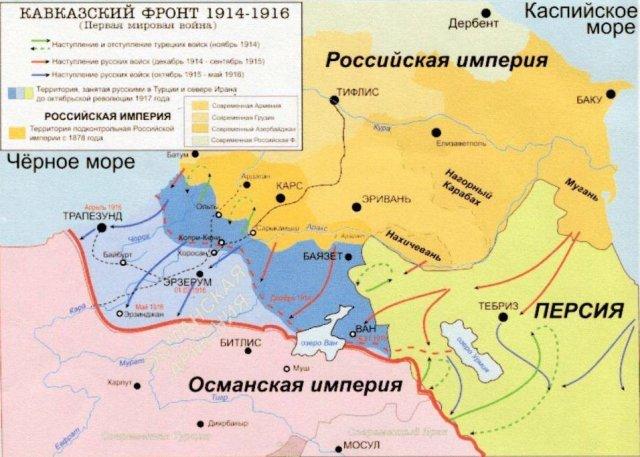 Первая мировая война и беженцы - мусульмане Кавказа