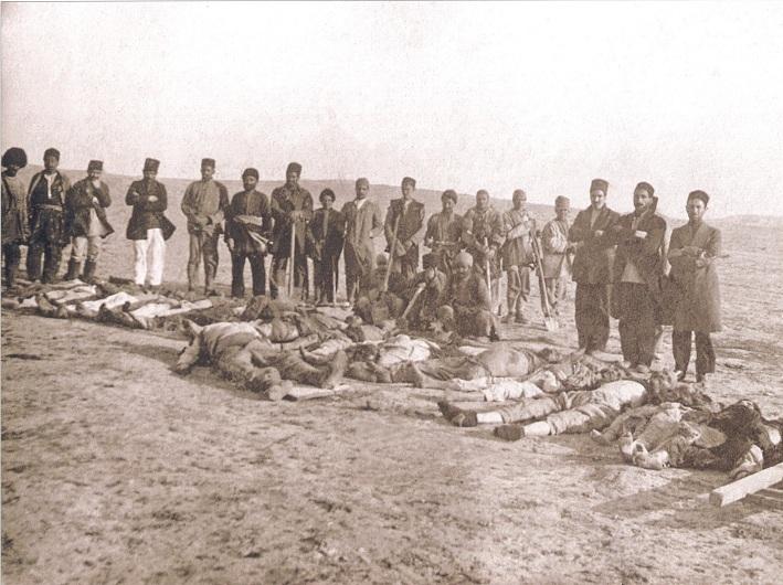 Bakıdakı erməni vəhşiliyi