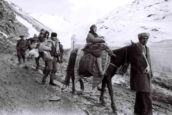 Вынужденные переселенцы Кельбаджара. Фотограф: Ильгар Джафаров
