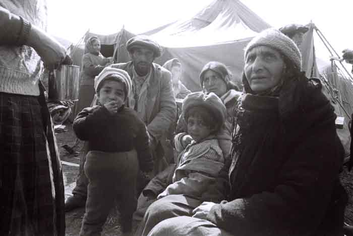 IDPs from Kalbajar, 1993. Photographer: Ilgar Jafarov