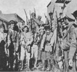 Urmiyada dinc sakinlərin evlərinə soxulmuş, qətl və qarət törətmiş erməni dəstələri. kicik