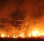 Сильный пожар kicik