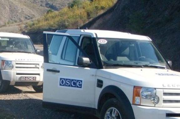 Мониторинг на линии соприкосновения войск Азербайджана и Армении