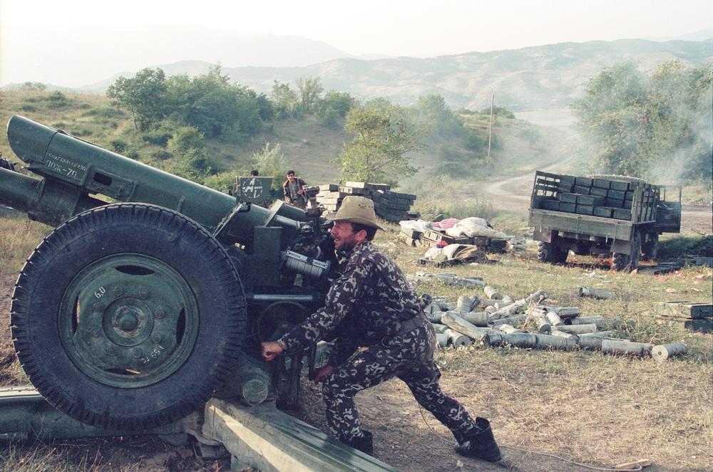 Ağdam cəbhəsində 1993