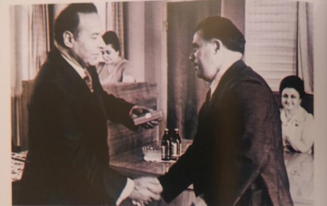 Heydər Əliyev və Kamil Akimov