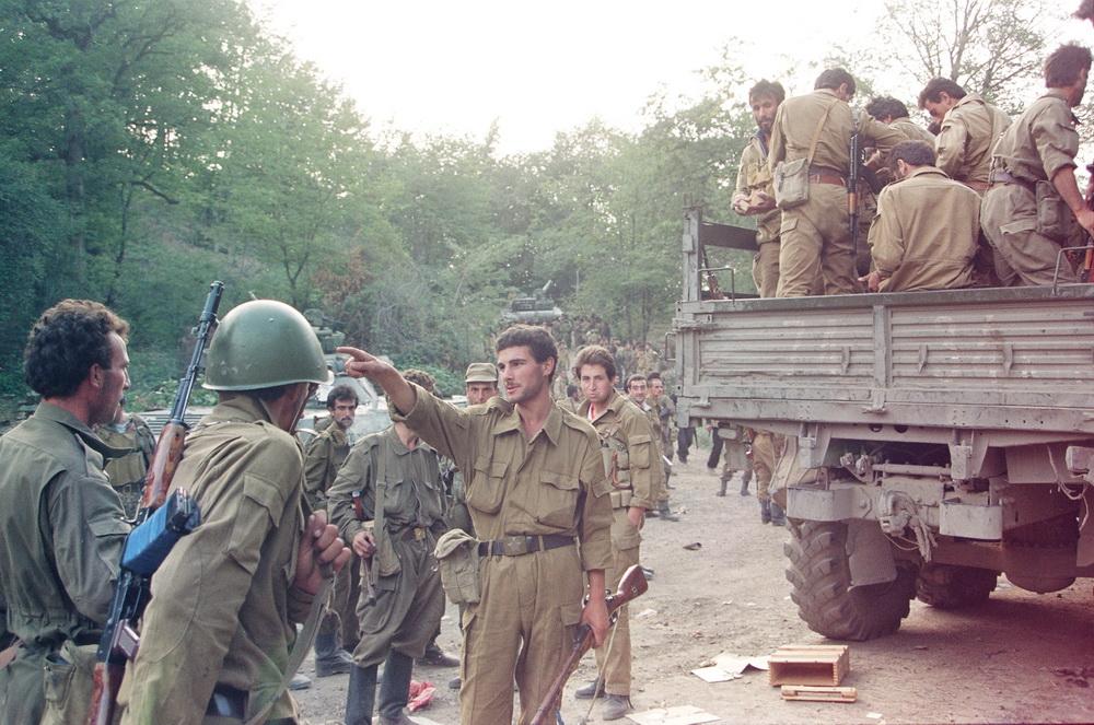Laçının işğalından sonra, 1992