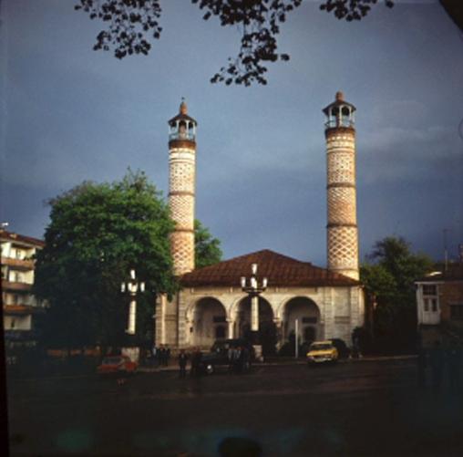 Şuşa. Yuxarı Gövhər-ağa məscidi