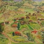 Maral Rəhmanzadə. Laçın, Qurtac kəndi. 1978