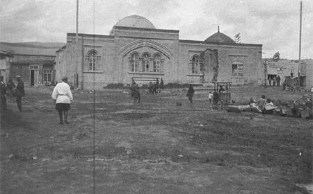 1930 год. Ереван. Мечеть в районе Демир булаха