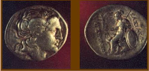 Тетрадрахма царя Фракии Лисимаха