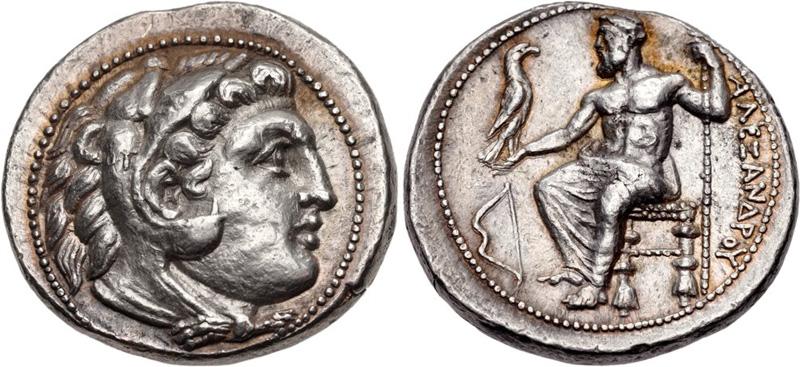 Тетрадрахма Александра Великого