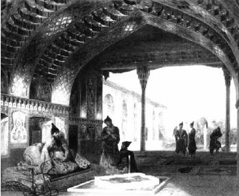 Князь Г.Гагарин. «В резиденции иреванского хана».