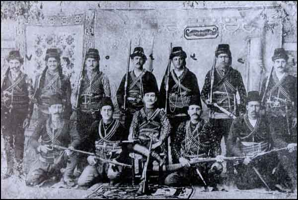 A group of Armenian bandits, Ankara and Yozgat.