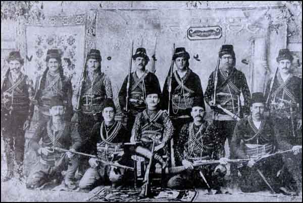 A group of Armenian bandits, Ankara and Yozgat.