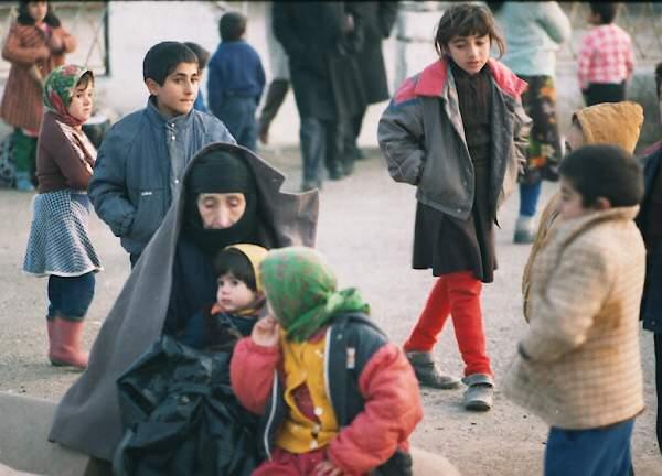 Şuşa aviareysini gözləyərkən, Ağdam 1991-ci il