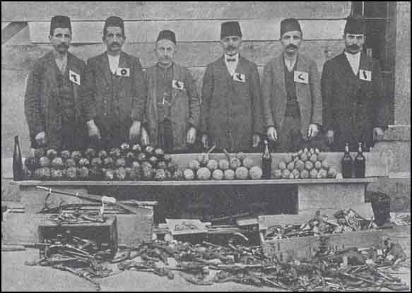 Some bombs seized at Ada-bazar together with tools to manufacture them. A few influential leaders of the Committee and some of its members whose duty is to make bombs and distribute them.