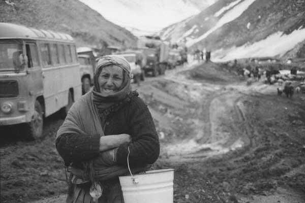 Şaxta. Murov- Kəlbəcər yolu. 1992-ci il