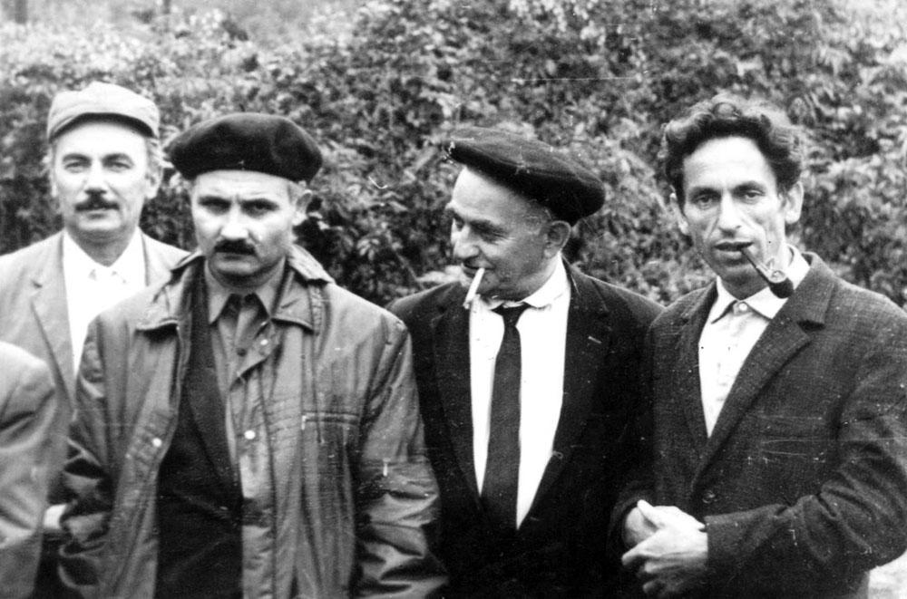 İdeal Nərimanov, Teymur Bünyadov və Zelik Yampolski ilə