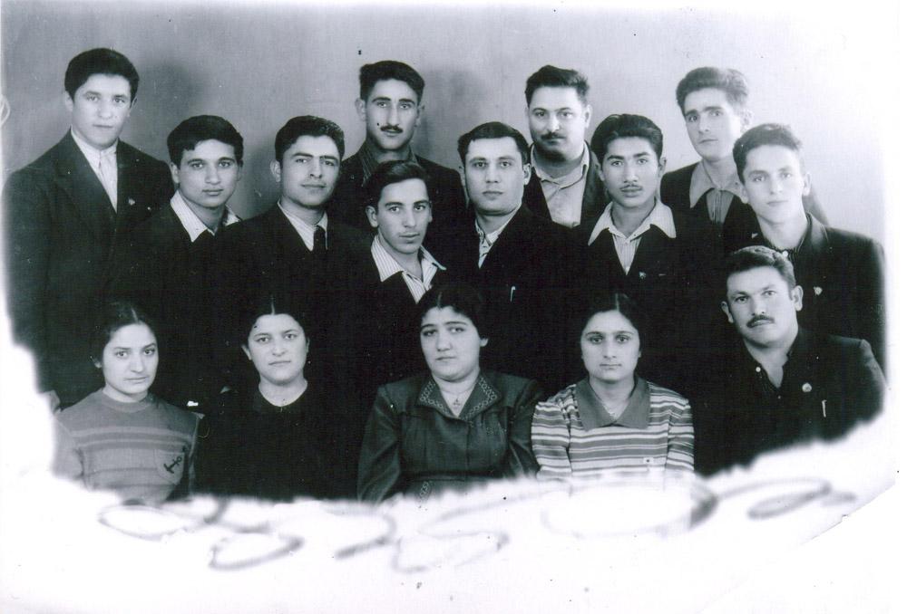 Bakı. Noyabr, 1954-cü il