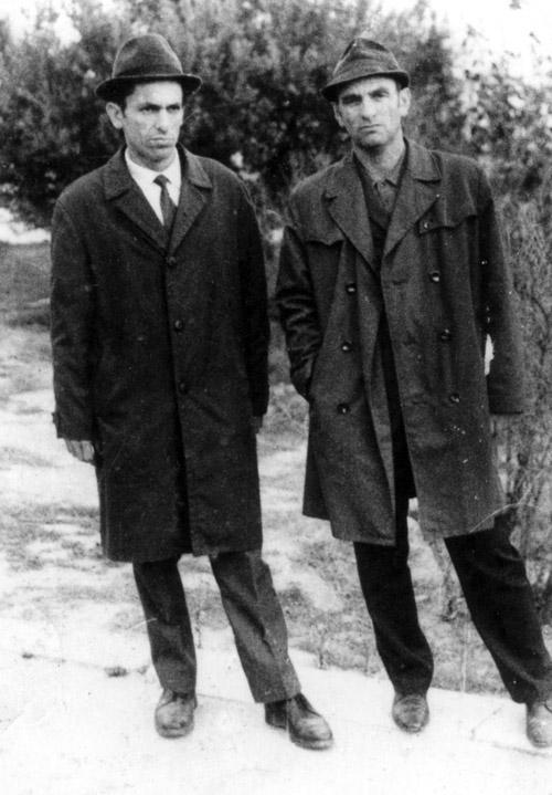 İş yoldaşı Hətəm Kəsəmənli ilə. 1972-ci il.