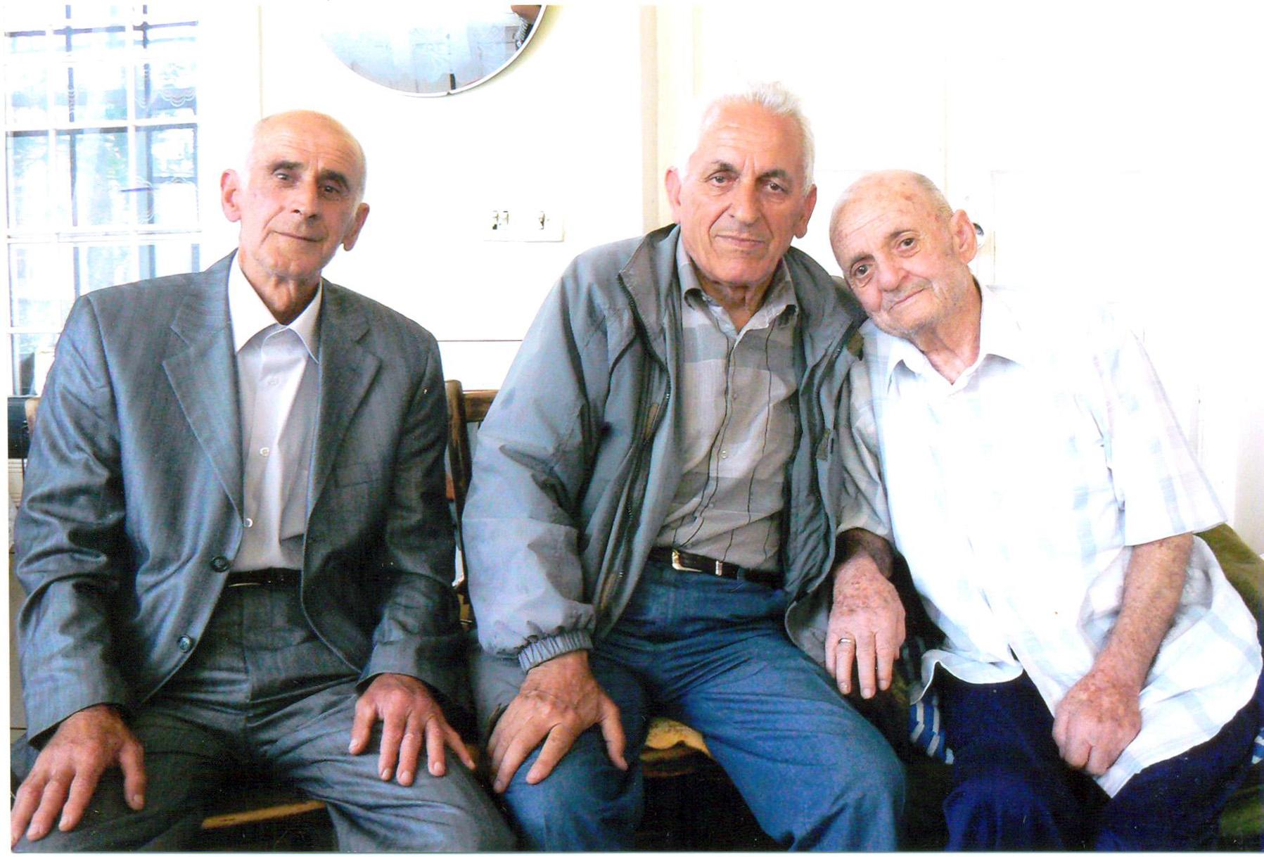 Akif müəllim və Nadir müəllimlə. 2008-ci-il
