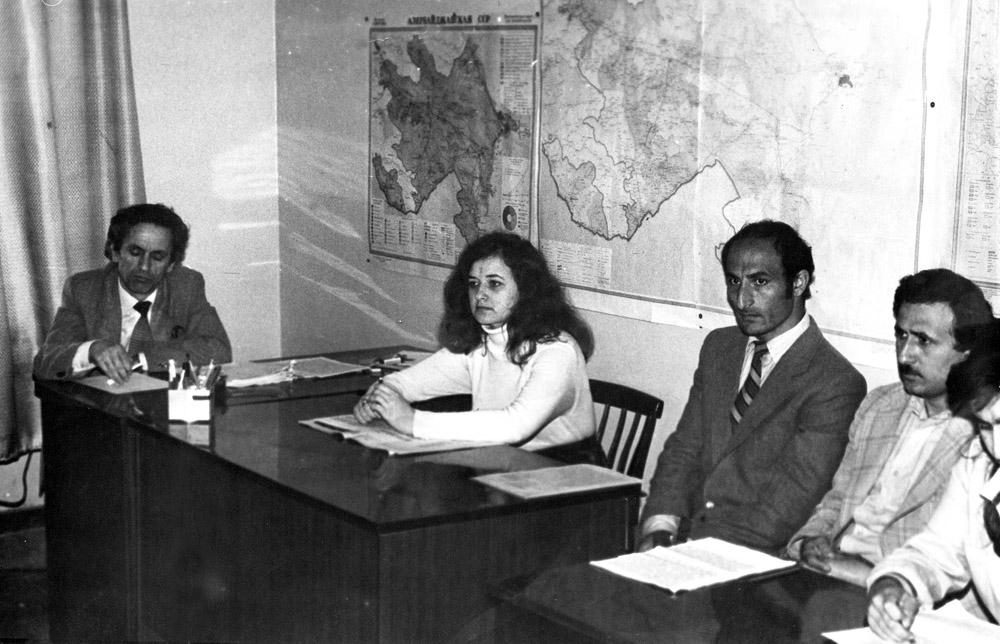 Azərbaycan SSR E.A-nın Tarix İnstitutunda Gənc alimlərin konfransı. Arxeologiya seksiyası Aprel 1960-cı il