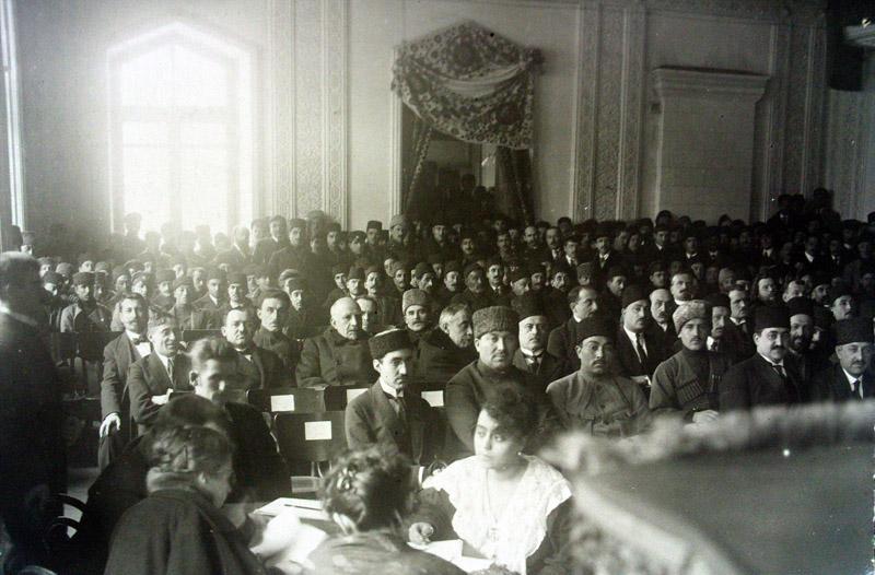 Azərbaycan Cümhuriyyəti Parlamentinin iclası. 1919-cu il