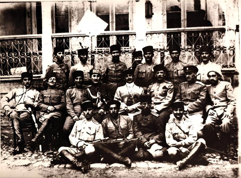 Azərbaycan Cümhuriyyəti ordusunun zabitləri