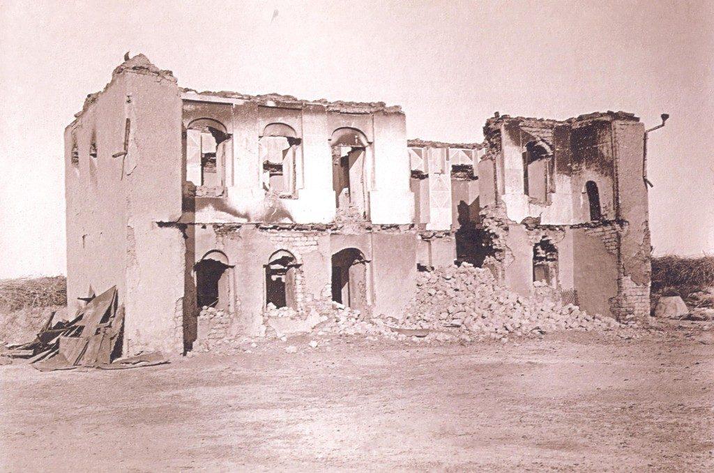Göyçay qəzası, Kürdəmir nahiyəsinin çaylı kəndində Fərman Rüstəm oğlunun malikanəsi