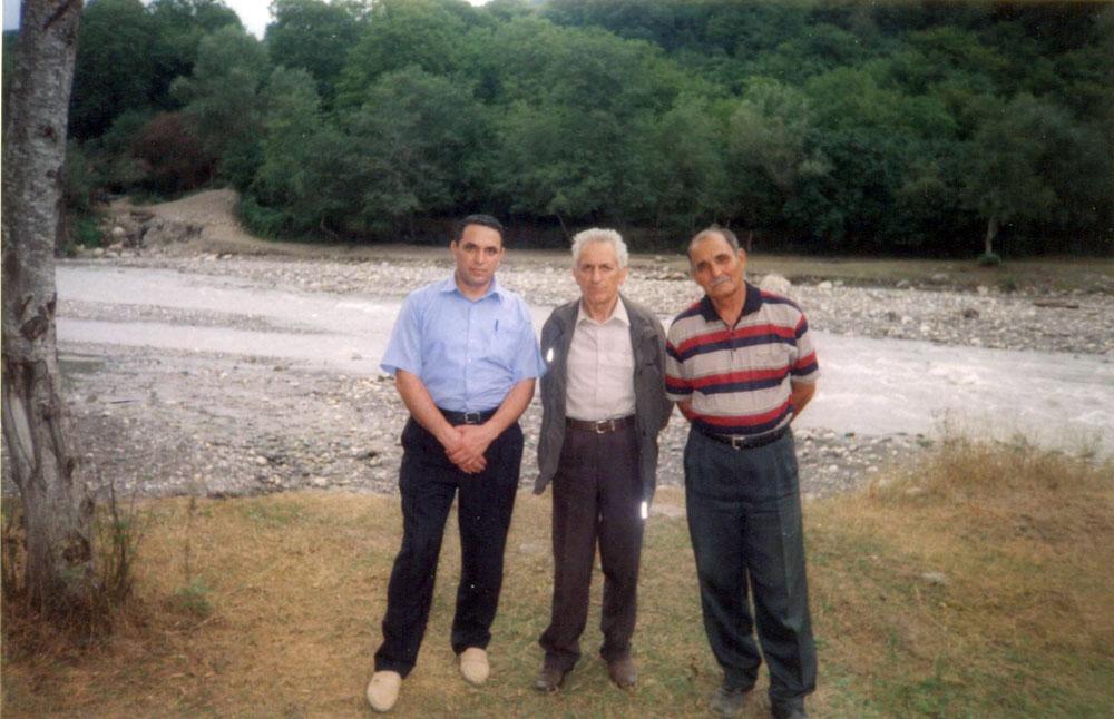 Gəray Qurbanov və Sabir Nuralıyevlə. 2003-cü il