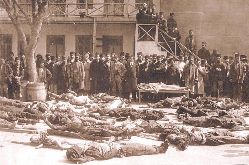 1918-ci ilin avqustu. Bakı kəndləri